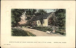 Birth-Place of Mary Sawyer and the Little Lamb