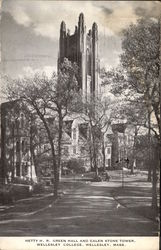 Hetty H.R. Green Hall and Galen Stone Tower, Wellesley College
