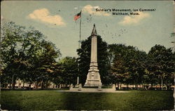 Soldier's Monument (on common)