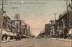 Main Street, North From Church St