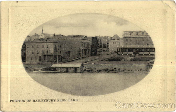 Portion Of Haileybury From Lake Ontario Canada