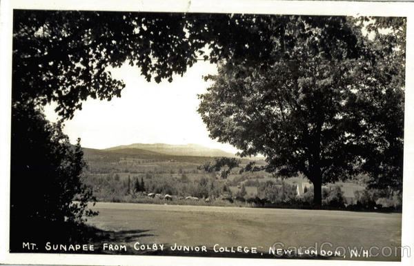 Mt. Sunapee From Colby Junior College New London New Hampshire