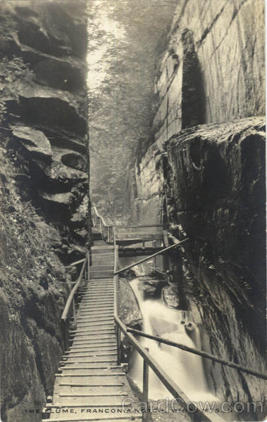 The Flume, Franconia Notch White Mountains New Hampshire