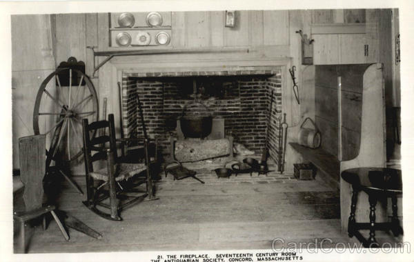 The Fireplace Concord Massachusetts