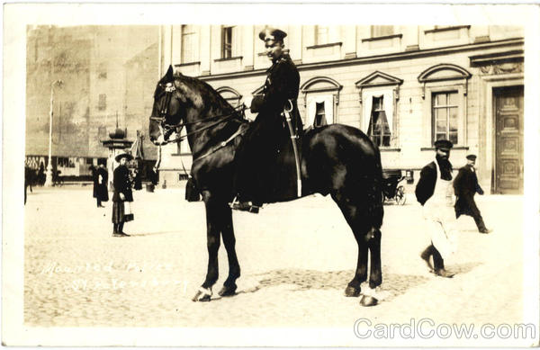 Mounted Russian Police St. Peteresburg