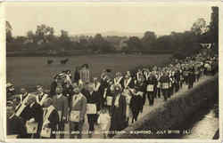 Masonic And Clerical Procession