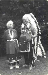 Native American Chief & Wife