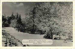 Winter Scene Greylock Mountain