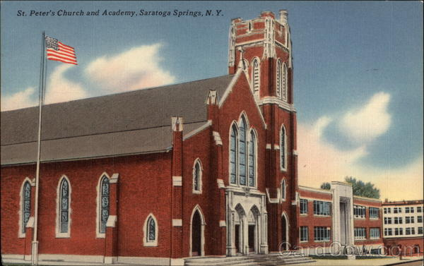 St. Peter's Church and Academy Saratoga Springs New York
