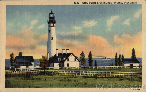 Wind Point Lighthouse Racine Wisconsin
