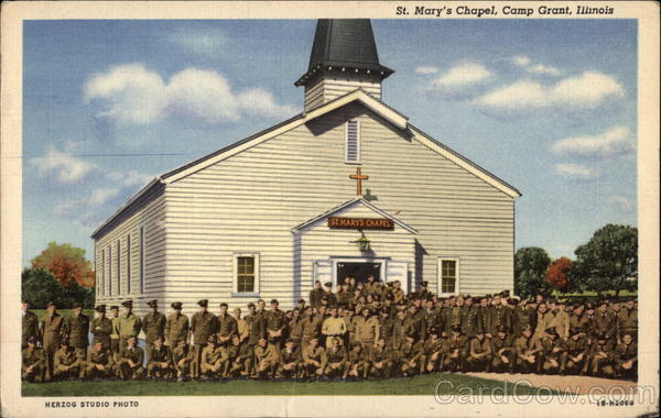 St. Mary's Chapel Camp Grant Illinois