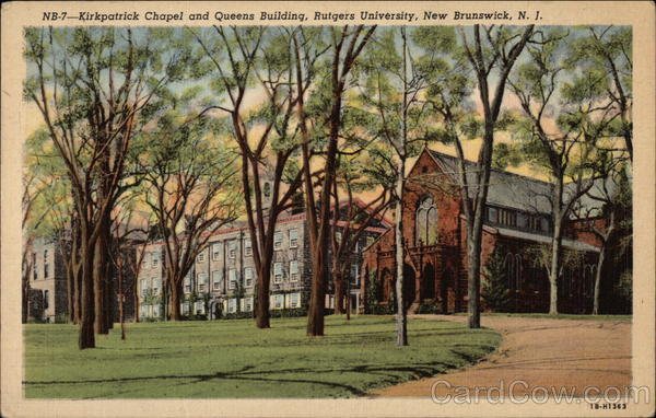 Kirkpatrick Chapel and Queens Building, Rutgers University New Brunswick New Jersey