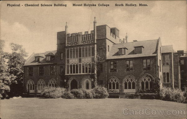 Physical-Chemical Science Building, Mount Holyoke College South Hadley Massachusetts