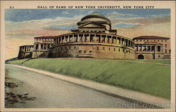 Hall of Fame of New York University New York City