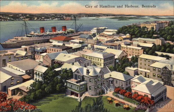 City of Hamilton and Harbour Bermuda