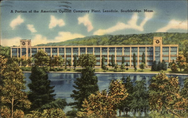 A Portion of the American Optical Company Plant, Lensdale Southbridge Massachusetts