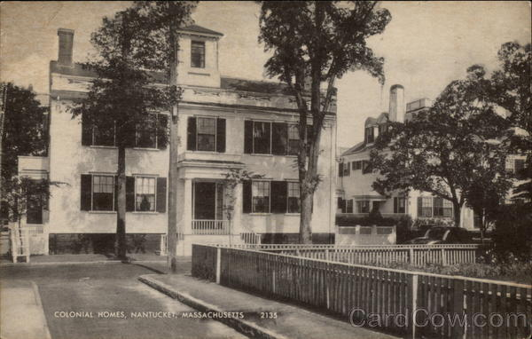 Colonial Homes Nantucket Massachusetts