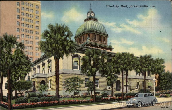 City Hall, Jacksonville, Fla Florida