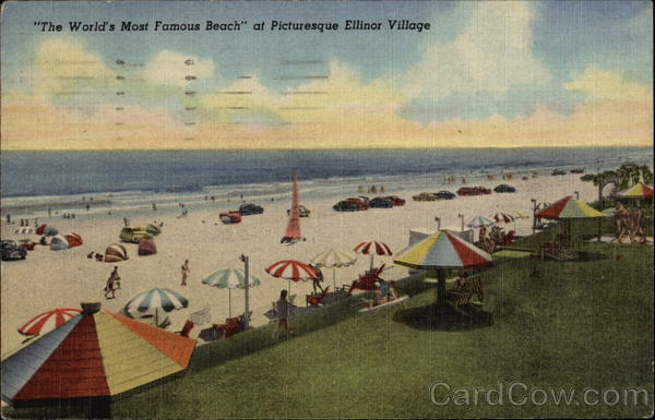The World's Most Famous Beach, Ellinor Village Florida