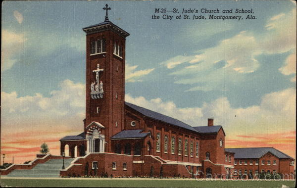 St. Jude's Church and School Montgomery Alabama