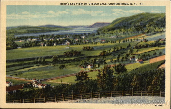 Otsego Lake, Cooperstown New York