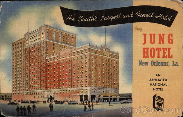 Jung Hotel, New Orleans, La Louisiana