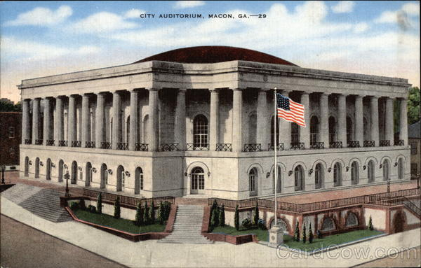 City Auditorium Macon Georgia