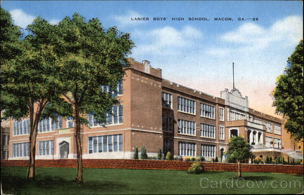 Lanier Boys' High School Macon Georgia