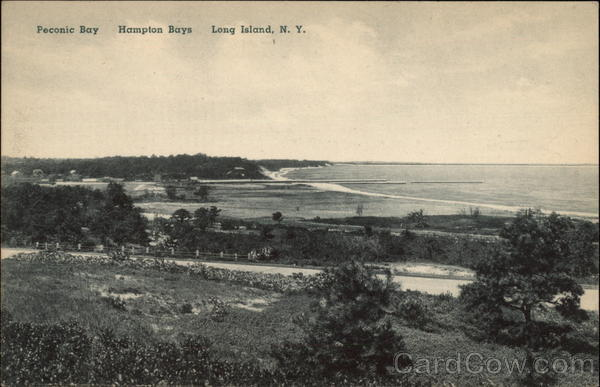 Peconic Bay, Hampton Bays, Long Island New York
