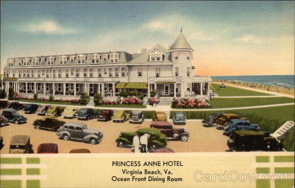 princess anne hotel ocean front dining room virginia. Black Bedroom Furniture Sets. Home Design Ideas