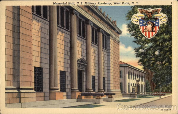 Memorial Hall, U.S. Military Academy West Point New York