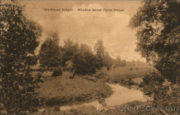 Westtown School - Meadow Below Farm House West Chester Pennsylvania