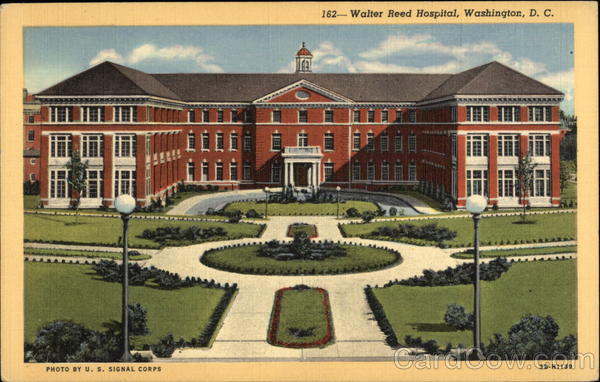 Walter Reed Hospital Washington District of Columbia
