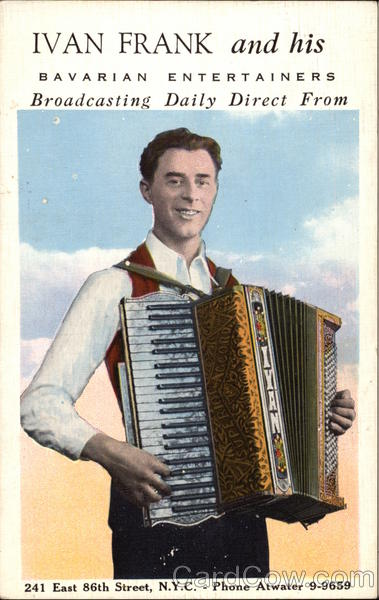 Ivan Frank and His Bavarian Entertainers New York