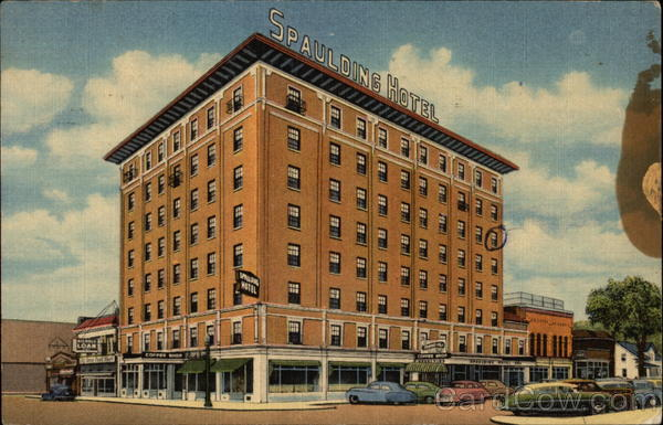 Spaulding Hotel Michigan City Indiana