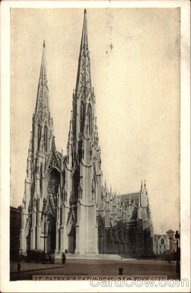 St. Patrick's Cathedral New York City First Day Issue Cards