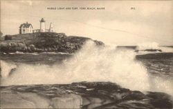 Nubble Light and Surf