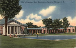 Hall of Springs, State Reservation, Saratoga Springs, N.Y