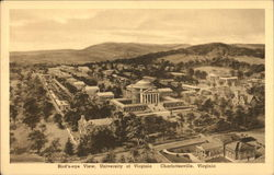 Bird's-Eye View, University of Virginia, Charlottesville, Virginia