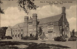 Mount Holyoke College - Mary E. Woolley Hall