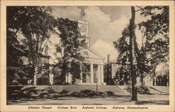 Johnson Chapel, College Row, Amherst College, Amherst, Massachusetts