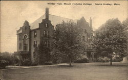Wilder Hall, Mount Holyoke College
