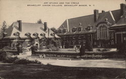 Art Studio and the Circle, Briarcliff Junior College, Briarcliff Manor, N.Y