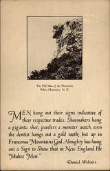 The Old Man of the Mountains, White Mountains, N.H