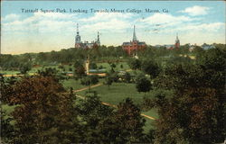 Tattnall Square Park, Looking Towards Mercer College