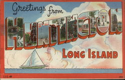 Greetings from Huntington Long Island