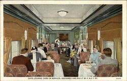 Cafe Lounge Cars in Service