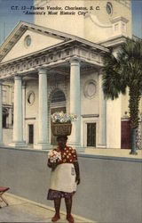 Flower Vendor, Charleston, S. C