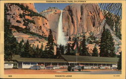 View of Yosemite Lodge