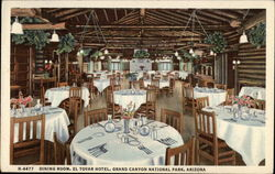 Dining Room, El Tovar Hotel, Grand Canyon National Park, Arizona